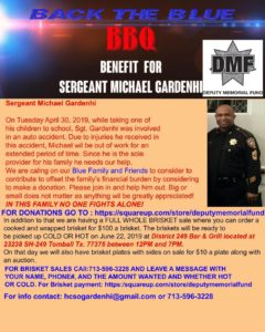 BBQ Benefit for Sgt Michael Gardenhi