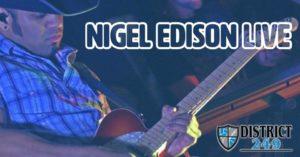 Nigel Edison Live