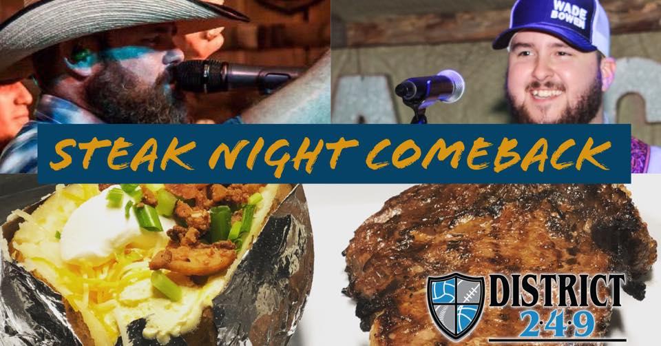 Steak Night is Back!