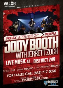 Jody Booth Concert