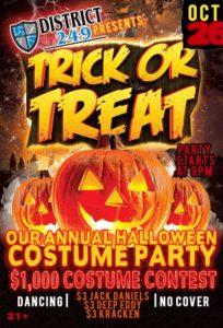 D249 Halloween Party!