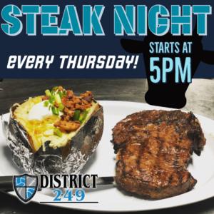 Last Steak Night